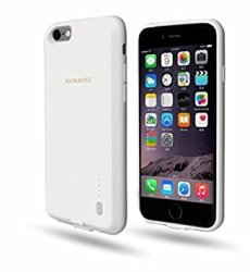 Romoss 4000mah Encase Cover For Iphone 6 Plus - White