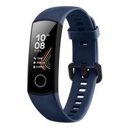 Original Huawei Honor Band 5 Smart Bracelet 0.95 Inch Amoled Color Screen IP5XWATERPROOF Support Heart Rate Monitor Blood Oxygen Monitoring Exercise Sleep Monitor Message Reminder Blue
