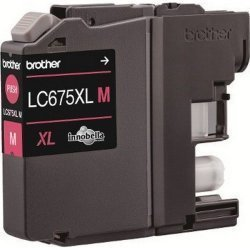 Brother Compatible LC675XLM Magenta Ink Cartridge
