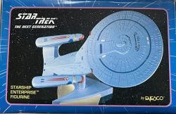 USA Star Trek The Next Generation Starship Enterprise Figurine By Enesco