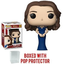 Funko Pop Royals: The Royal Family - Kate Duchess Of Cambridge Vinyl Figure Bundled With Pop Box Protector Case