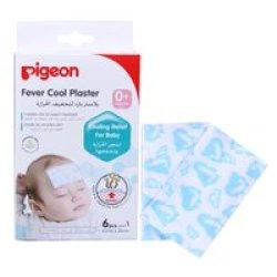 Pigeon 5841 Fever Cooling Plaster 6& 39 S