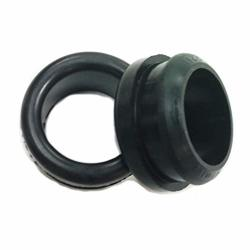 """Pirate Mfg 1-1 4"""" Od Rubber Grommet W 1 4"""" Wide Groove 1"""" Id For Steel V c Breather Pair"""