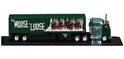 Matchbox Die Cast Moosehead Beer Kenworth Tractor Trailer Truck 30218