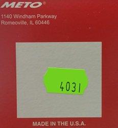 Meto 2200 Fl. Green Mptp Labels 21 000