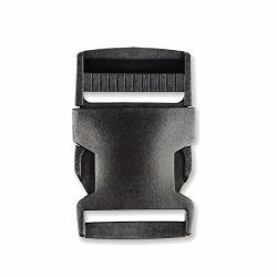 Premium Plastic Buckles Side Release Buckles 1-1 4 Inch 31MM Buckles 4PCS Black