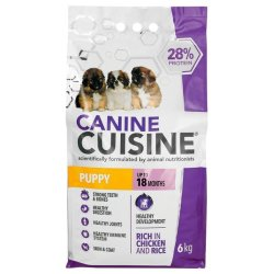 Canine Cuisine - Puppy Chicken & Rice 6KG