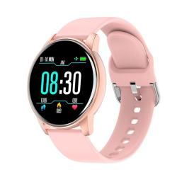 ZL01 1.3INCH Ips Color Screen Smart Watch IP67 Waterproof Support Call Reminder heart Rate Monitoring blood Pressure Monitoring blood Oxygen Monitoring sleep Monitoring Pink