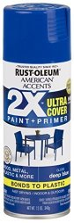 RUST-OLEUM 327878-6 Pk American Accents Spray Paint Gloss Deep Blue