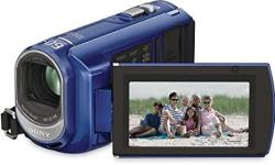 Sony DCRSX40 L Palm-sized Camcorder With 60X Optical Zoom Blue Discontinued By Manufacturer