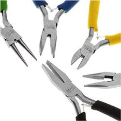 Beadsmith Deal Jewelry Beading Color I.d. Economy Pliers 5 Piece Set