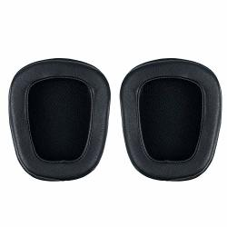 Gerod Replacement Ear Pads Cushions Covers Repair Parts for Logitech G933 G633 Surround Gaming Headphones Headset