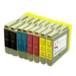 Sophia Global Compatible Ink Cartridge Replacement For Brother LC51 2 Black 2 Cyan 2 Magenta And 2 Yellow