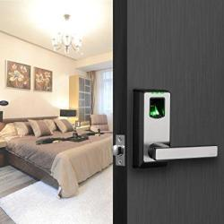 Zkteco PL10B Electronic Smart Lock Biometric Fingerprint Door Lock With  Bluetooth Keyless Home Entry With Your Smartphone Fing   R3278 00   Access