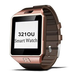 321OU Bluetooth Smart Watch Phone DZ09 With Camera Pedometer Support Sim Card Tf Card For Iphone Ios