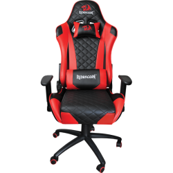 Redragon King Of War Gaming Chair in Red & Black