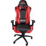 Redragon : King Of War Gaming Chair Red And Black