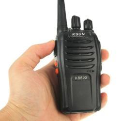 Silulo Online Store Ksun KS590 Portable Radio Walkie Talkie Retevis Uhf 400-470 Mhz 5W 16CH Two Way Radio Fm Transceiver
