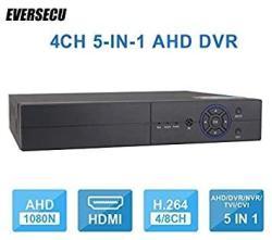 4CH 1080P Lite 5-IN-1 HD Analog Hybrid Dvr&nvr Support 1080P Ip CAMERA+1080P Ahd tvi cvi Camera And 960H Analog Camera S