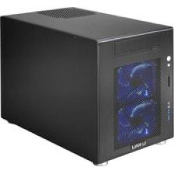 Lian Li PC-V354 Micro-atx Cube Chassis - Black