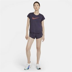 Nike Women's Icon Clash Mauve Run Top
