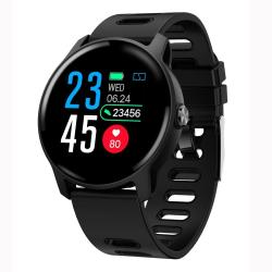 S08 1.3 Inch Ips Color Screen IP68 Waterproof Smart Watch Support Call Reminder heart Rate Monitoring blood Pressure Monitoring sleep Monitoring Black
