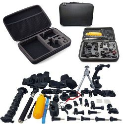 Xtreme 55-IN-1 Accessories Starter Kit For Gopro Hero 7 6 5 4 3+ Cameras