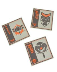 Call Of Duty Black Ops Silicone Coasters 3 Pack