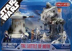 Hasbro Star Wars 30TH Anniversary Saga 2007 Exclusive Action Figure Battle Pack Attack On Kashyyyk
