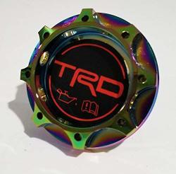 TRD Racing Neo-chrome Engine Oil Filler Cap Oil Tank Cover Aluminium