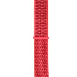 Nylon Strap For Apple Watch Compatible With 38MM & 40MM Rose Red