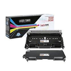 SuppliesOutlet Brother TN360 Toner Cartridge Toner & Drum Combo