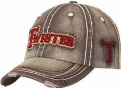 Twister Men's Grey Logo Cap Grey One Size
