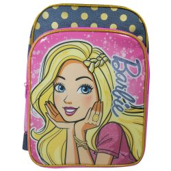 Barbie - Large Denim Backpack + Pencil Case