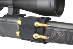 Beartooth Sidecart - Premium Neoprene 2-ROUND Ammo Carrier - Rifle Model Black