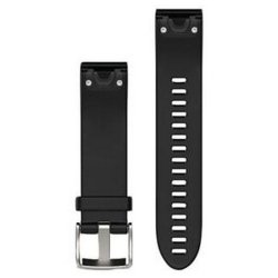 Garmin Garmi Quickfit 20MM Black Silicone Band