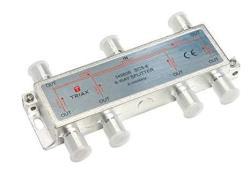 10 Pack 3Way 2.5GHz Satellite Splitter DC Power Pass InstallerParts