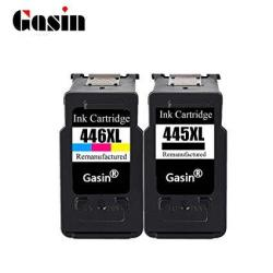 Gasin PG-445 CL-446 Ink Cartridge Replacement For Canon Ink Cartridge PG-445XL CL-446XL For MX494 MG2440 MG2540 Printer