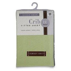 BE BasicTM Be Basic Bambino Basics Jersey Knit Crib Sheet In Green