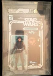 Star Wars The Black Series Death Squad Commander 40TH Anniversary Afa 9.0 Uncirculated 6 Action Figure