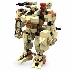 MyBuild Mecha Frame 6 Inch Mecha Kit Construction Blocks Toybuilding Bricks Set Titan 6012