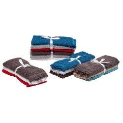 Mainstays - 3 Pack Guest Towel Set Nautical Colours