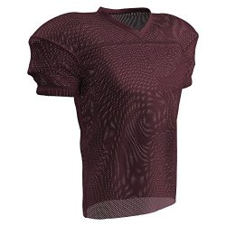 Champro Fire Football Jersey Adult Maroon Large