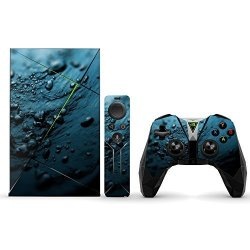 MightySkins Protective Vinyl Skin Decal For Nvidia Shield Tv Wrap Cover Sticker Skins Blue Storm