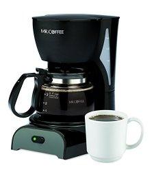 Mr. Coffee Simple Brew 4-CUP Coffee Maker Black