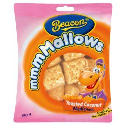 Beacon Marshmallows Toasted Coconut Packet 150 G