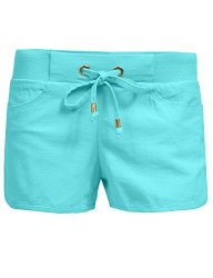 NE People Womens Casual Active Wear Workout Drawstring Lounge Shorts