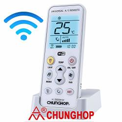 CHUNGHOP Wifi Universal Air Conditioner Remote A c Controller Air  Conditioning Mobile Phone App Preheating Remote Control K-380E | R1465 00 |