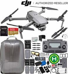 DJI Mavic 2 Pro Drone Quadcopter W hasselblad Camera 1 Cmos Sensor 3 Battery Everything You Need Bundle