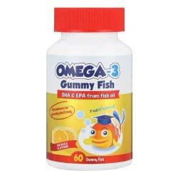Star Kids OMEGA-3 Gummy Fish Orange 60 Gummy Fish